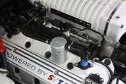 JLT jlt3012P-C 07-14 FORD MUSTANG GT500 PASSENGER SIDE OIL SEPARATOR 3.0 CLEAR