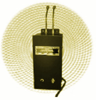 Automatic Electric Gas Heaters Copper Tubes Model 1000-580 CGA 580 male x female (Nitrogen, N2) Custom