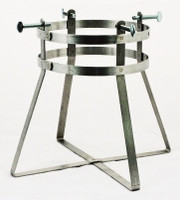"Small Cylinder Stand fits 4"" to 7-3/8"" Dia Cylinders"