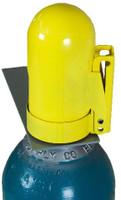 """Cylinder Safety Cap Lockable (Snap Cap-B) Low Pressure Fine Threads 6.5"""" x 3-1/2"""" x 11 UN"""