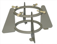 "Medium Laboratory Bottle Ring Stand fits 5"" to 6.75"" Dia Cylinders Custom"