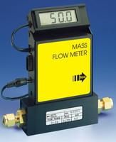 Aluminum Electronic Mass Flowmeter A5 Viton® Seals 0-200 sccm Output Signal V = 0-5 VDC Model A820T-A-V-00200-V