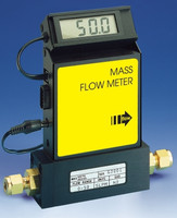 Aluminum Electronic Mass Flowmeter A6 Viton® Seals 0-500 sccm Output Signal V = 0-5 VDC Model A820T-A-V-00500-V