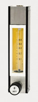 Brass AC Flowmeter Standard Valve Series 7965 65mm Flow Rate 1-10 SCFH Stainless Steel Float Model 7965B-J19ST