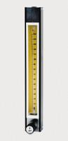 """Brass Flowmeter Series 7920 150mm Model B7920V-7 With Tube And Valve 1/8"""" X 1/8"""" NPTF"""