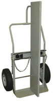 "2 Cyl Firewall 2 Wheel Hand Truck Heavy Duty 16"" Pneumatic Tires Custom"