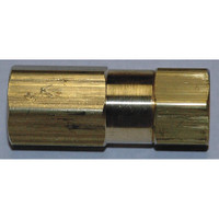 "Brass In-Line 1/4"" FXF Filter With #1 micron filter element Model 7510-1-P4FF"