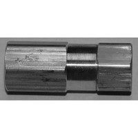 "Stainless Steel In-Line 1/4"" FXF Filter With #50 micron filter element Model 7520-50-P4FF"