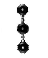 "Deep Cross Purge Valve System Stainless Steel Multi-Turn Valve 1/4"" NPT Female x 1/4"" NPT Female Model 4820-P4FF"