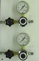 Two Regulators Vertical Brass Point Of Use Panel Model 2231-V-???-???