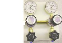Two Regulators Horizontal Brass Point Of Use Panel Model 2331-H-???-???
