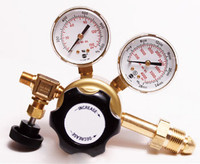 A1 Brass General Purpose Non-Corrosive Gas Single Stage Regulator 0-15 PSIG