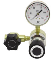 Brass High Purity C1 HIGH FLOW Line Pressure Regulator Model 3101LHF 10-100 PSIG