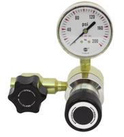 Brass High Purity B8 HIGH FLOW Line Pressure Regulator Model 3101LHF 5-25 PSIG