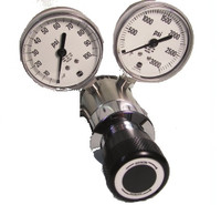 Stainless Steel Economical Corrosive Gas High Purity A2 Two Stage Pressure Regulator Model 3551NV 5-50 PSIG NO VALVE
