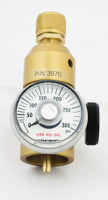 Disposable Cylinder Aluminum Non-Corrosive Regulator Model 3970 0-60 PSIG