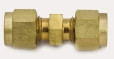 "Brass Union Model 4SC4-B 1/4"" Compression x 1/4"" Compression"