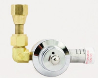 Cryogenic Silenced Safety Relief Valve 22 PSIG Setting Whisper Valve® Model 8636-22