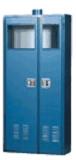 """Gas Cylinder Safety Storage Cabinet 4 Cyl 48""""W X 18""""D X 72""""H Model 7400 Custom"""