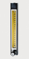 "Stainless Steel Flowmeter Series 7920 150mm Model S7920V-3 With Tube And Valve 1/8"" X 1/8"" NPTF"