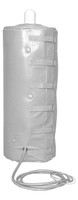"""Gas Cylinder Heating & Insulating Jacket For Hazardous Areas Class 1 Division 2 Groups B, C & D Fits K Size Cylinders 9.25""""Dia X 54.50""""H 110/120V Custom"""