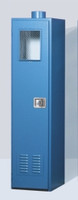 "Outdoor Gas Cylinder Safety Storage Cabinet 1 Cyl 18""W X 18""D X 72""H Model 7100OD Custom"