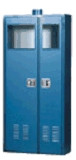 "Outdoor Gas Cylinder Safety Storage Cabinet 4 Cyl 48""W X 18""D X 72""H Model 7400OD Custom"