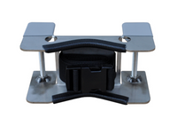 1 Cylinder Bench Mount Bracket (Stainless Steel)