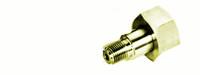 "Brass CGA Cylinder Connection 555 CGA X 1/4"" NPT Male Model CGA555B"