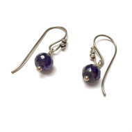 Sterling Silver Sapphire Inspiration Drop Earrings