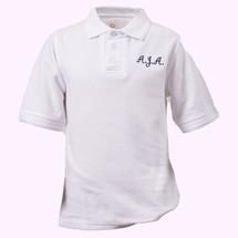 AJA Short Sleeve Slim Polos - Youth