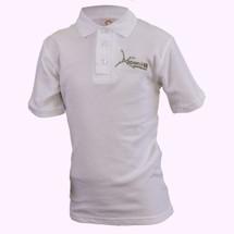 Aspen Hill White Short Sleeve Polo