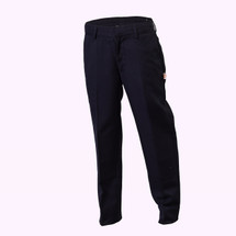 Navy Flat Front Pants  - Adult