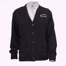 Pre-Order AJA Navy Cardigan - Youth