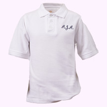 AJA Short Sleeve Polos - Youth