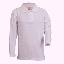 AJA Long Sleeve Polos - Youth slim