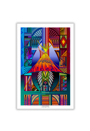 "24""x 36"" -  Tipi Sunrise -"
