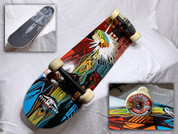WAR BONNET: Custom Skateboard