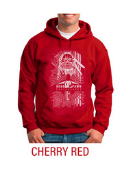 HOODIE Toby Cherry Red