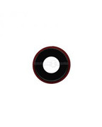 iPhone XR Camera Lens with Ring (Red) (5 Pack)
