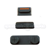 iPhone 5 Housing Buttons (Black)