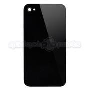 iPhone 4 GSM Back Glass NO LOGO (Black)