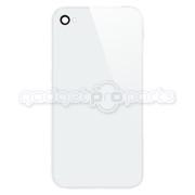 iPhone 4 GSM Back Glass NO LOGO (White)