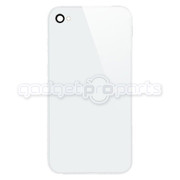 iPhone 4S/4 CDMA Back Glass NO LOGO (White)