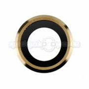 iPhone 6S/i6 Back Camera Lens with Ring (Gold) (5 Pack)