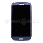 Galaxy S3 LCD/Digitizer CDMA ON FRAME (Blue)