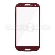 Galaxy S3 Glass (Red)