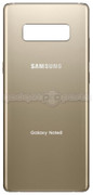 Galaxy Note 8 Back Glass (Gold)
