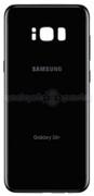 Galaxy S8+ Back Glass (Black)