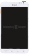 Galaxy Note 1 LCD/Digitizer ON FRAME (White)